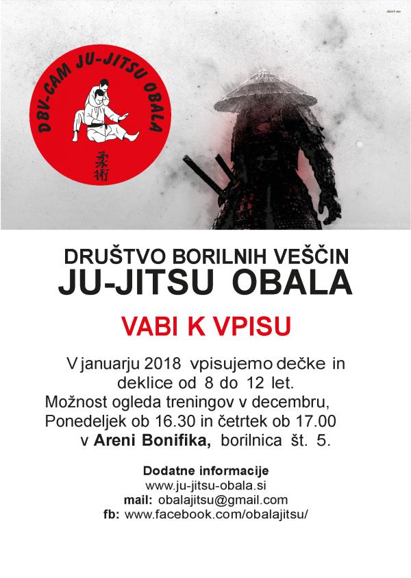 DBV JJK OBALA - VABILO K VPISU